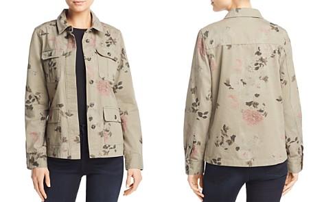 AQUA Floral Print Army Jacket - 100% Exclusive - Bloomingdale's_2