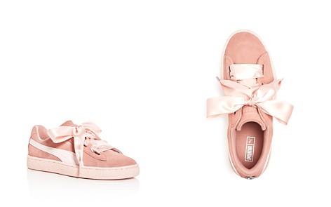 PUMA Girls' Heart Jewel Suede Lace Up Sneakers - Big Kid - Bloomingdale's_2