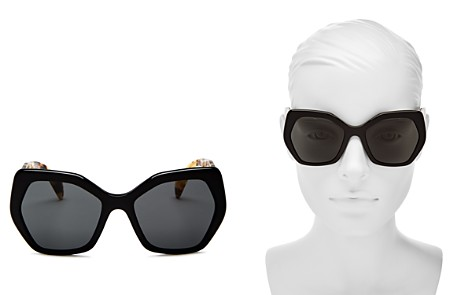 Prada Round Sunglasses, 54mm - Bloomingdale's_2
