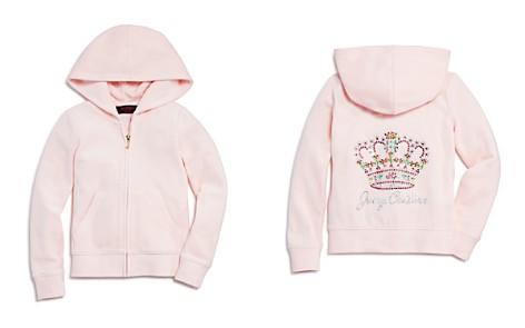 Juicy Couture Black Label Girls' Velour Rhinestone-Crown Robertson Jacket - Big Kid - Bloomingdale's_2