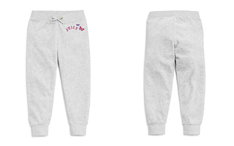 Juicy Couture Black Label Girls' Velour Butterfly Logo Zuma Pants - Big Kid - Bloomingdale's_2