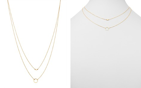 "Moon & Meadow Layered Circle Pendant Necklace in 14K Yellow Gold, 17"" - 100% Exclusive - Bloomingdale's_2"