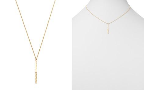 "Moon & Meadow Beaded Y Drop Necklace in 14K Yellow Gold, 17"" - 100% Exclusive - Bloomingdale's_2"
