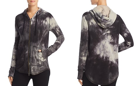 ATM Anthony Thomas Melillo Tie-Dye Zip-Front Hoodie - Bloomingdale's_2