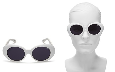 Quay Women's Frivolous Oval Sunglasses, 55mm - Bloomingdale's_2