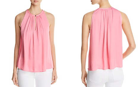 VINCE CAMUTO Shirred Keyhole Tank - 100% Exclusive - Bloomingdale's_2