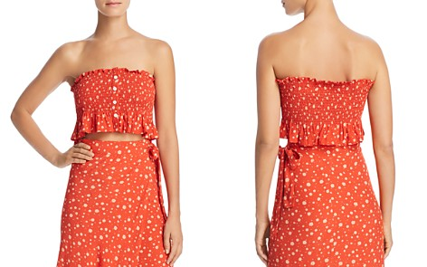 Faithfull the Brand Sloane Strapless Crop Top - Bloomingdale's_2
