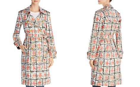 Burberry Briston Scribble Check Trench Coat - Bloomingdale's_2