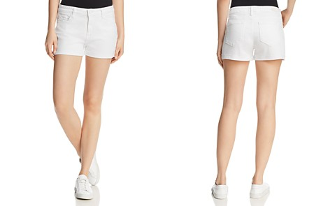 PAIGE Jimmy Jimmy Denim Shorts in Crisp White - Bloomingdale's_2