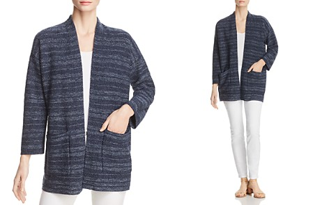 Eileen Fisher Striped Kimono Cardigan - Bloomingdale's_2