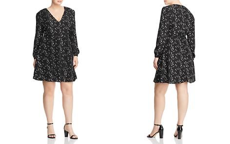 GLAMOROUS CURVY Bird Print Belted Dress - Bloomingdale's_2