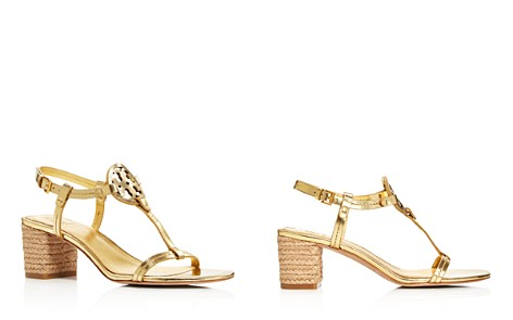 Tory Burch Women's Miller Leather T-Strap Block Heel Sandals - Bloomingdale's_2