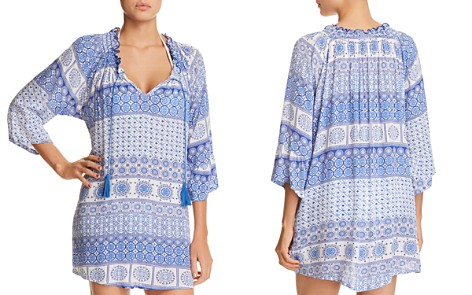 J. Valdi Tassel Tunic Dress Swim Cover-Up - Bloomingdale's_2