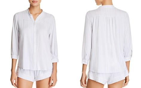 Eberjey Painted Stripe PJ Top & Shorts - Bloomingdale's_2