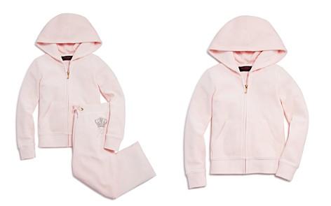 Juicy Couture Black Label Girls' Velour Rhinestone-Crown Robertson Jacket & Mar Vista Pants - Big Kid - Bloomingdale's_2