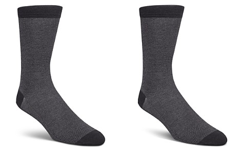 Cole Haan Piqué Textured Dress Socks - Bloomingdale's_2