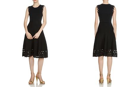 Maje Rumba Perforated Knit Midi Dress - Bloomingdale's_2