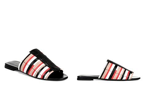 Via Spiga Women's Harlotte Color-Block Leather Slide Sandals - Bloomingdale's_2