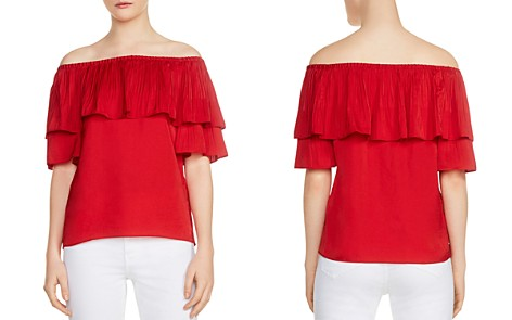 Maje Locao Off-the-Shoulder Top - Bloomingdale's_2