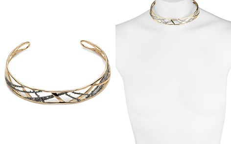 "Alexis Bittar Crystal Encrusted Plaid Collar Necklace, 14"" - Bloomingdale's_2"