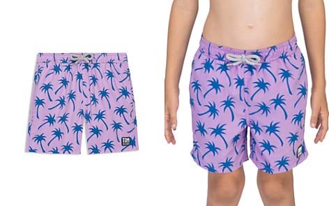 TOM & TEDDY Boys' Palm Tree Swim Trunks - Little Kid, Big Kid - Bloomingdale's_2