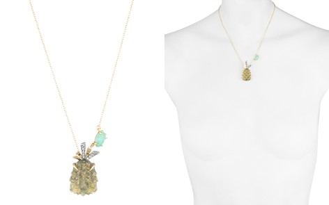 "Alexis Bittar Pineapple Pendant Necklace, 16"" - Bloomingdale's_2"