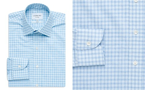Ledbury Gingham Slim Fit Dress Shirt - Bloomingdale's_2