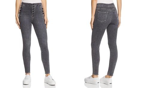 J Brand Natasha Sky High Skinny Jeans in Obscura - Bloomingdale's_2