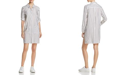 T Tahari Sabina Metallic Stripe Tunic Top - Bloomingdale's_2