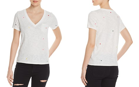 Honey Punch Star Embroidered Tee - 100% Exclusive - Bloomingdale's_2