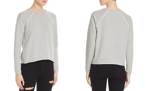 Generation Love Clay Studded Distressed Sweatshirt - Bloomingdale's_2