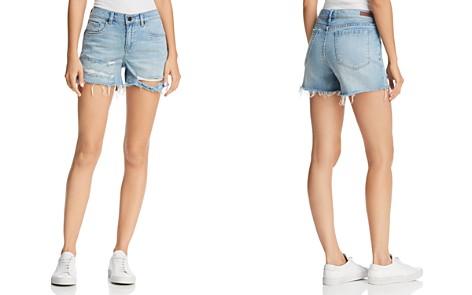 BLANKNYC Distressed Denim Shorts in Memory Lane - Bloomingdale's_2