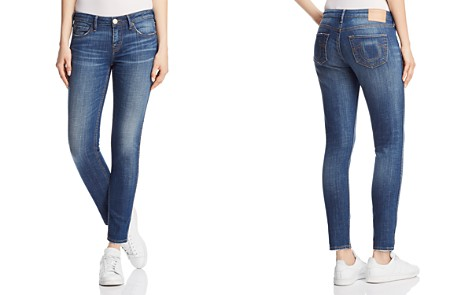 True Religion Halle Mid Rise Super Skinny Jeans in Gen Y - Bloomingdale's_2