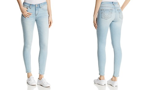 True Religion Jennie Core Curvy Skinny Jeans in Breakaway Blue - Bloomingdale's_2