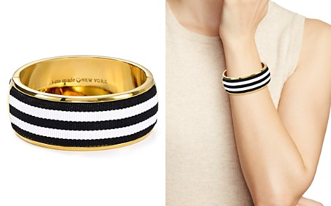 kate spade new york Striped Bangle Bracelet - Bloomingdale's_2