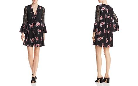 En Créme Lace-Inset Floral-Print Dress - 100% Exclusive - Bloomingdale's_2