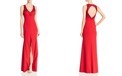 Aidan Mattox Embellished Open-Back Gown - 100% Exclusive - Bloomingdale's_2