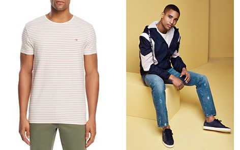 Scotch & Soda Washed Striped Tee - Bloomingdale's_2