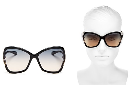 Tom Ford Women's Astrid Oversized Square Sunglasses, 61mm - Bloomingdale's_2