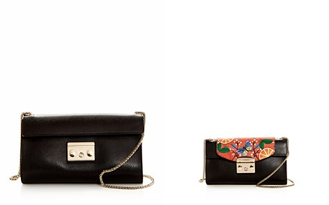 Furla MY PLAY Interchangeable Metropolis Small Leather Pochette Body - Bloomingdale's_2