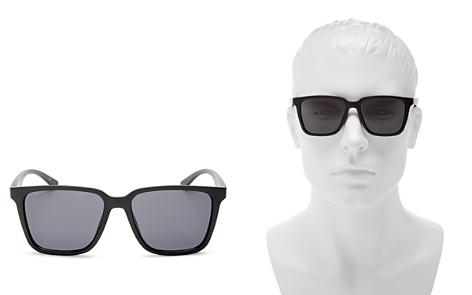 Le Specs Fair Game Modern Square Sunglasses, 57mm - Bloomingdale's_2