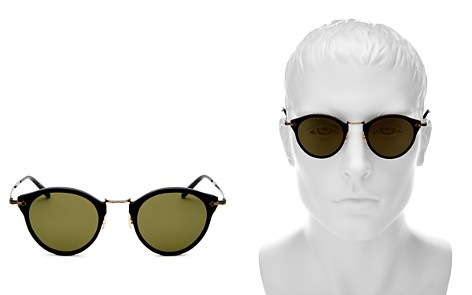 Oliver Peoples Round Sunglasses, 44mm - Bloomingdale's_2
