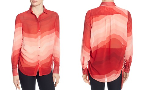 CATHERINE Catherine Malandrino Spencer Gradient-Print Blouse - Bloomingdale's_2