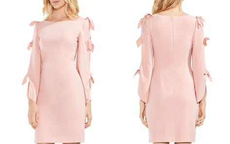 VINCE CAMUTO Split Tie Sleeve Crepe Dress - Bloomingdale's_2
