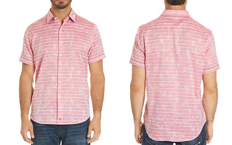 Robert Graham Machado Leaf Stripe Button-Down Shirt - Bloomingdale's_2