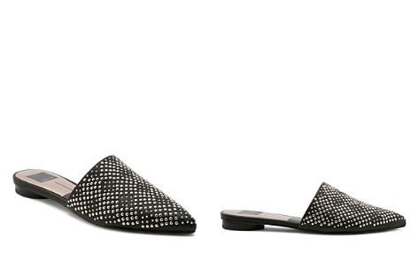 Dolce Vita Women's Elvah Studded Leather Pointed Toe Mules - Bloomingdale's_2