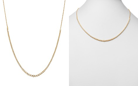 Bloomingdale's Diamond Graduated Bolo Necklace in 14K Yellow Gold, 2.50 ct. t.w. - 100% Exclusive _2