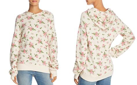 PAM & GELA Floral Print Hooded Sweatshirt - Bloomingdale's_2