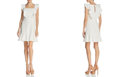 Lucy Paris Ruffled Textured Dress - 100% Exclusive - Bloomingdale's_2