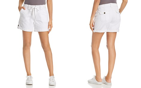 JAG Jeans Adeline Cuffed Tie-Waist Shorts - Bloomingdale's_2